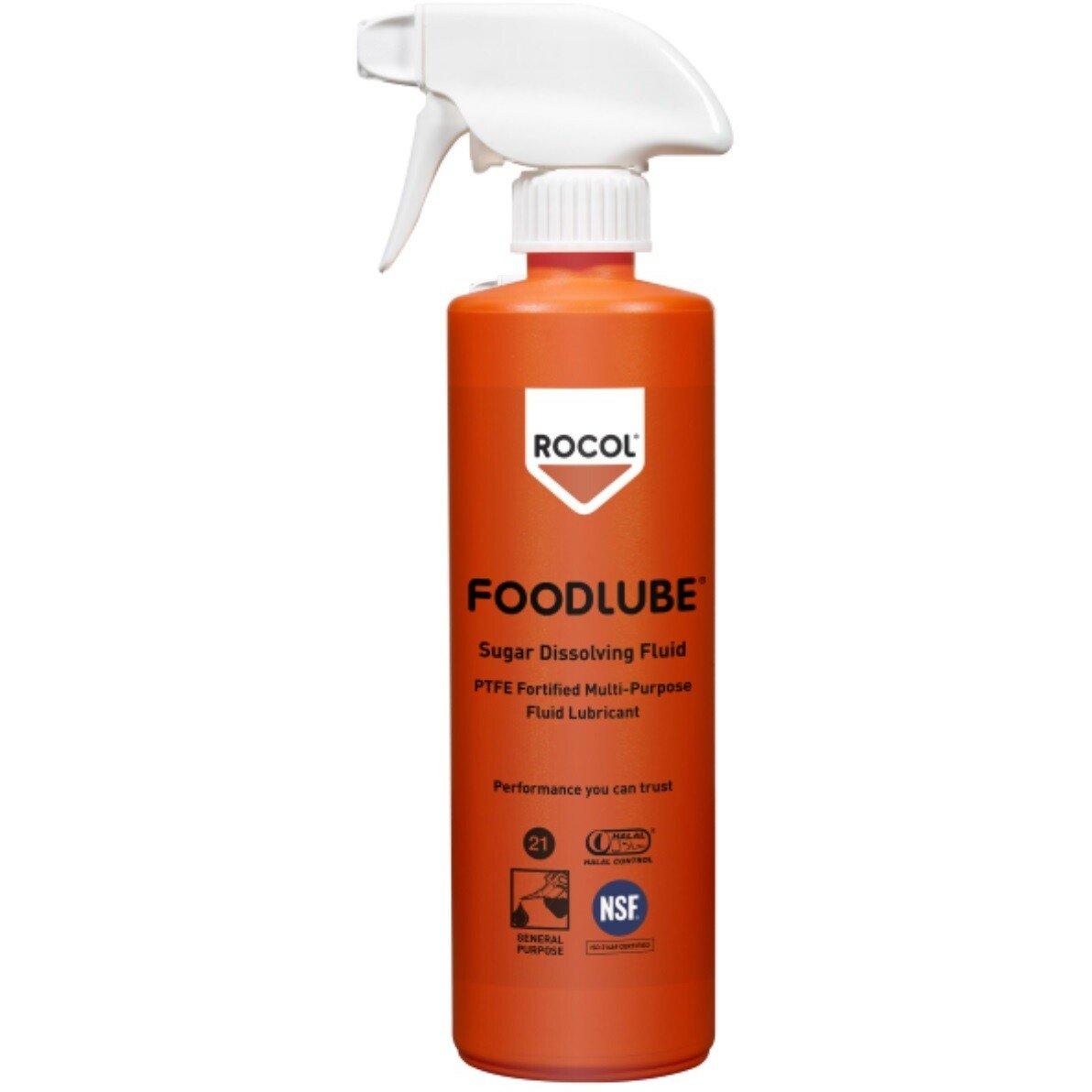 Rocol 15110 Foodlube Sugar Dissolving Fluid (NSF Registered) 500ml