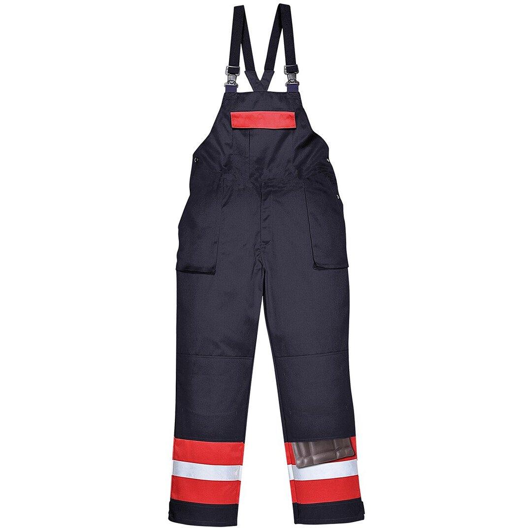 Portwest FR57 Bizflame Plus Bib and Brace Flame Resistant - Regular Fit