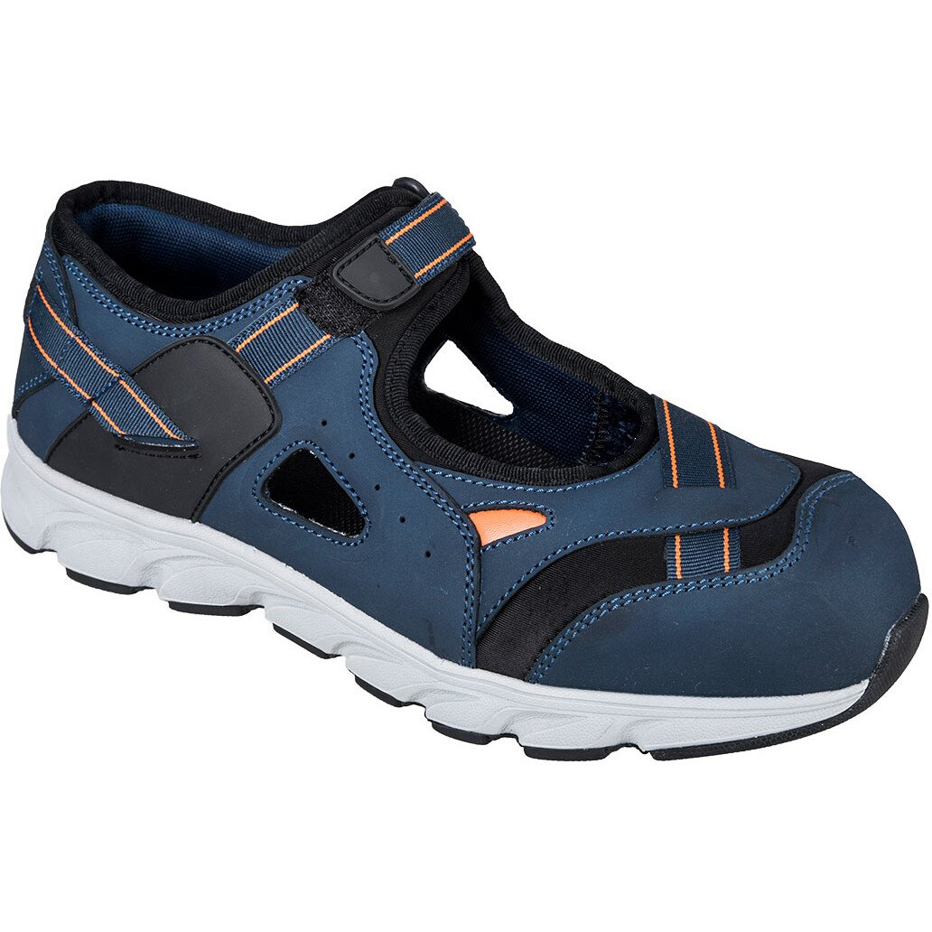 Portwest FT37 Compositelite Safety Tay Sandal S1P Footwear - Blue