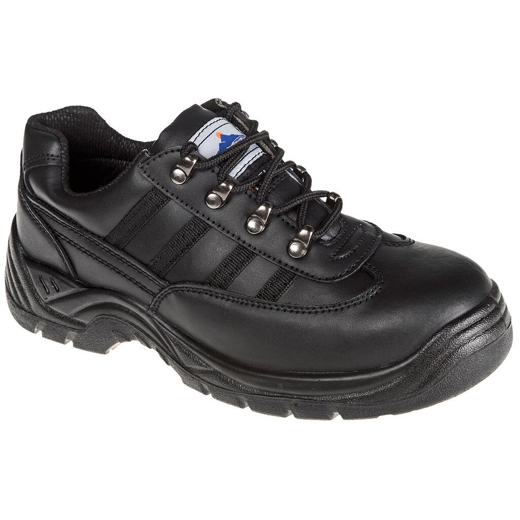 Portwest FW15 Steelite Safety Trainer S1 - Black