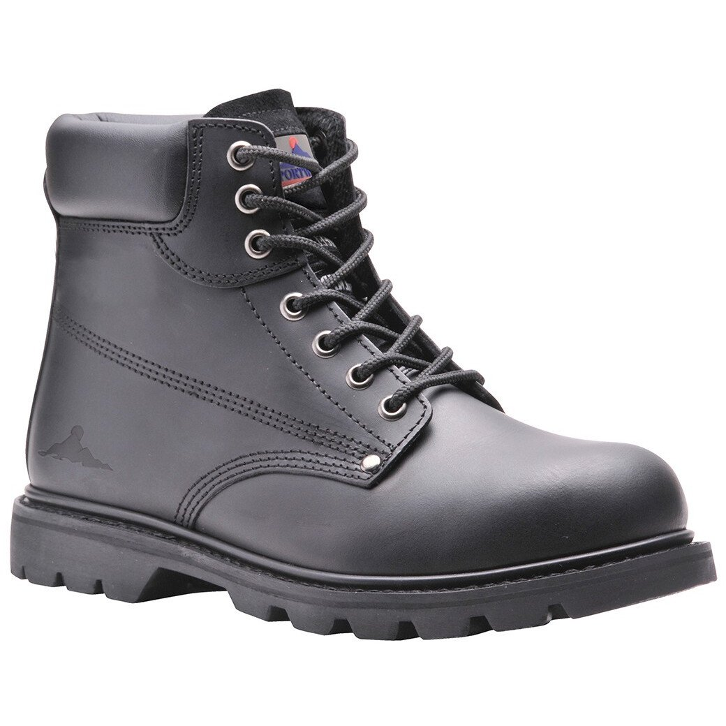 Portwest FW16 Steelite Welted Safety Boot SBP HRO - Black
