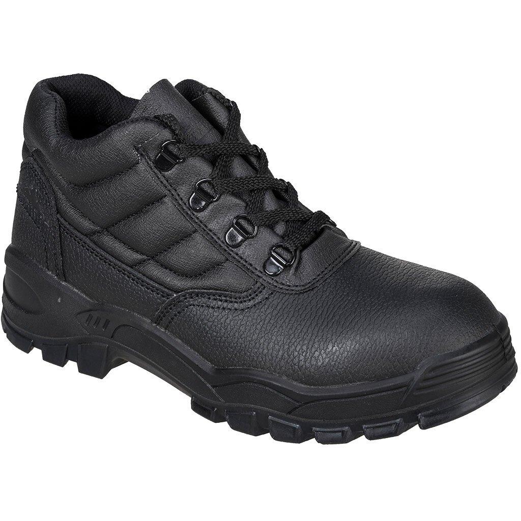 Portwest FW20 Work Boot O1 Occupational Footwear - Black