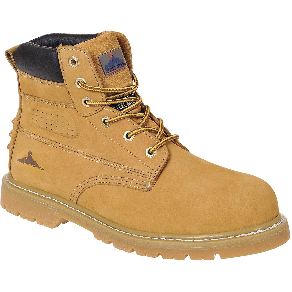 Portwest FW35 Steelite Welted Plus Safety Boot SBP HRO - Honey