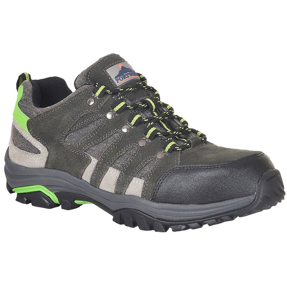 Portwest FW36 Steelite Loire Low Cut Trainer S1P HRO - Grey/Green