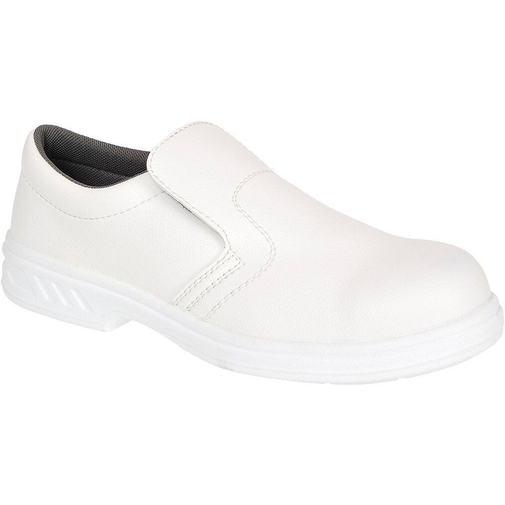 Portwest FW58 Occupational Slip On Shoe O2 - White