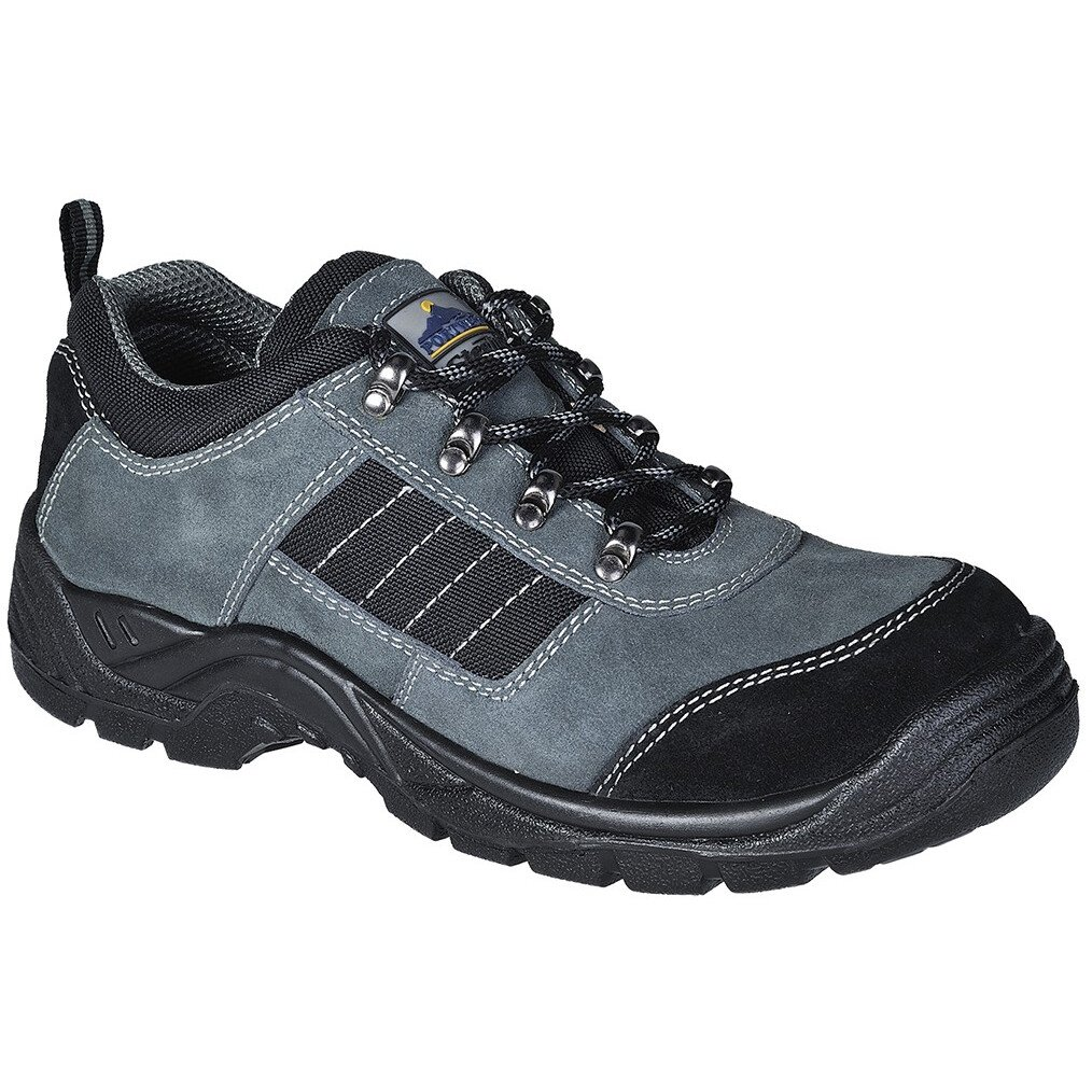 Portwest FW64  Steelite Trekker Shoe S1P - Black