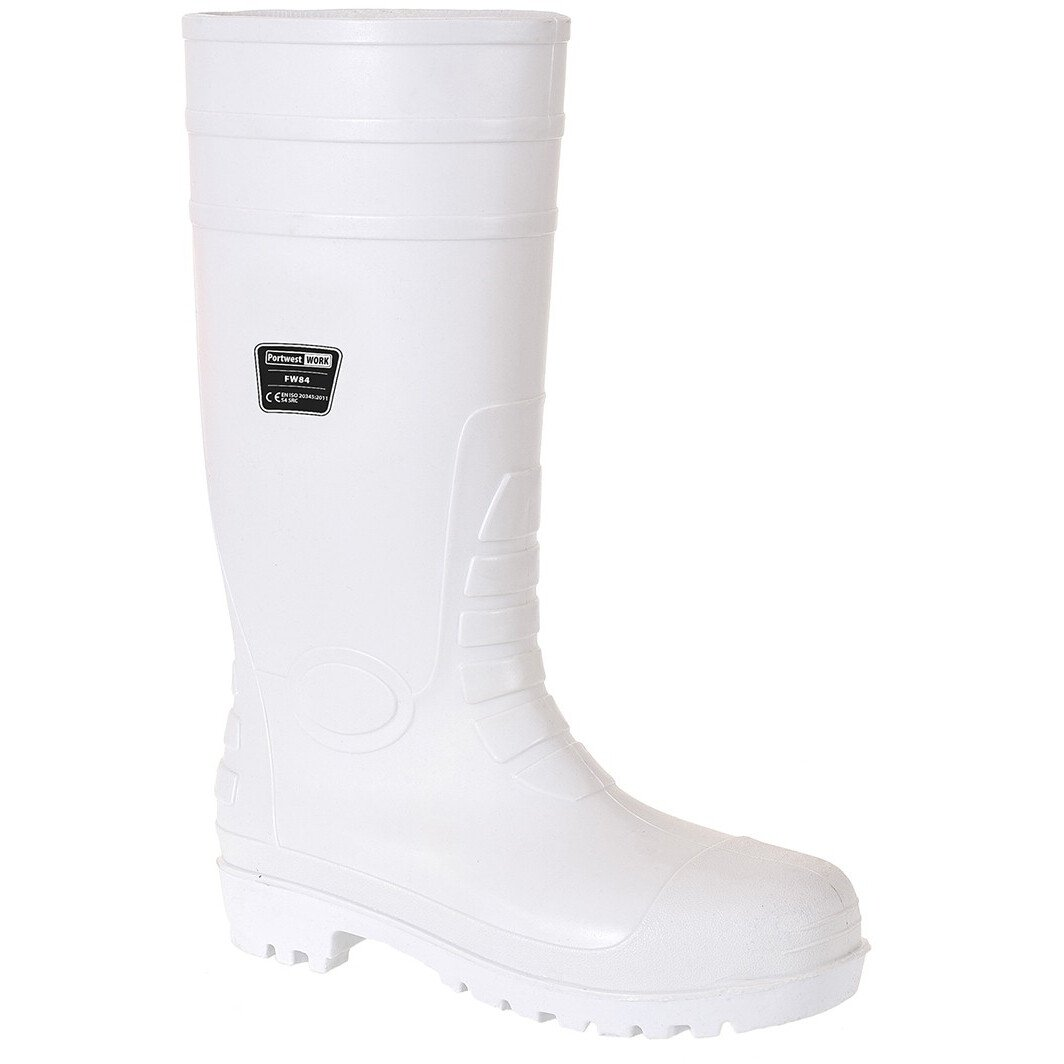 Portwest FW84 Safety Food Wellington S4 - White