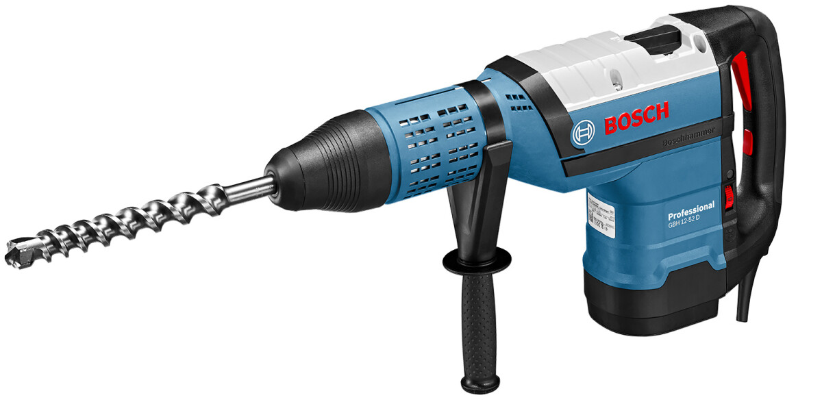 Bosch GBH 12-52 D 12 kg SDS-Max 2 Function Rotary Hammer in Carry Case