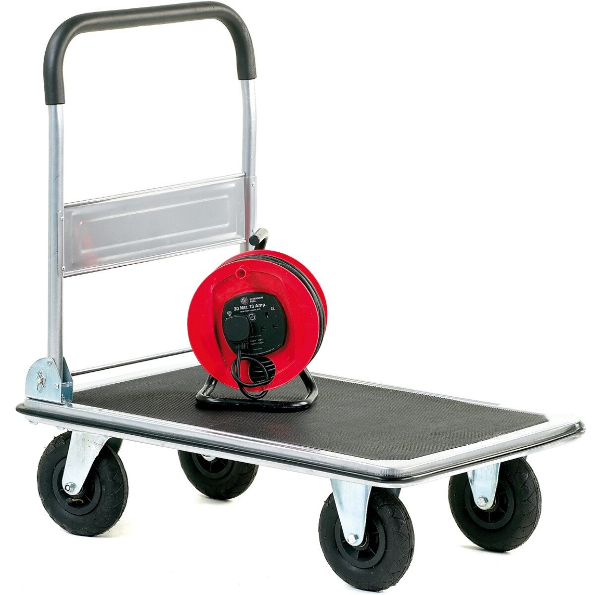 GPC GI009P Large Wheeled Folding Trolley