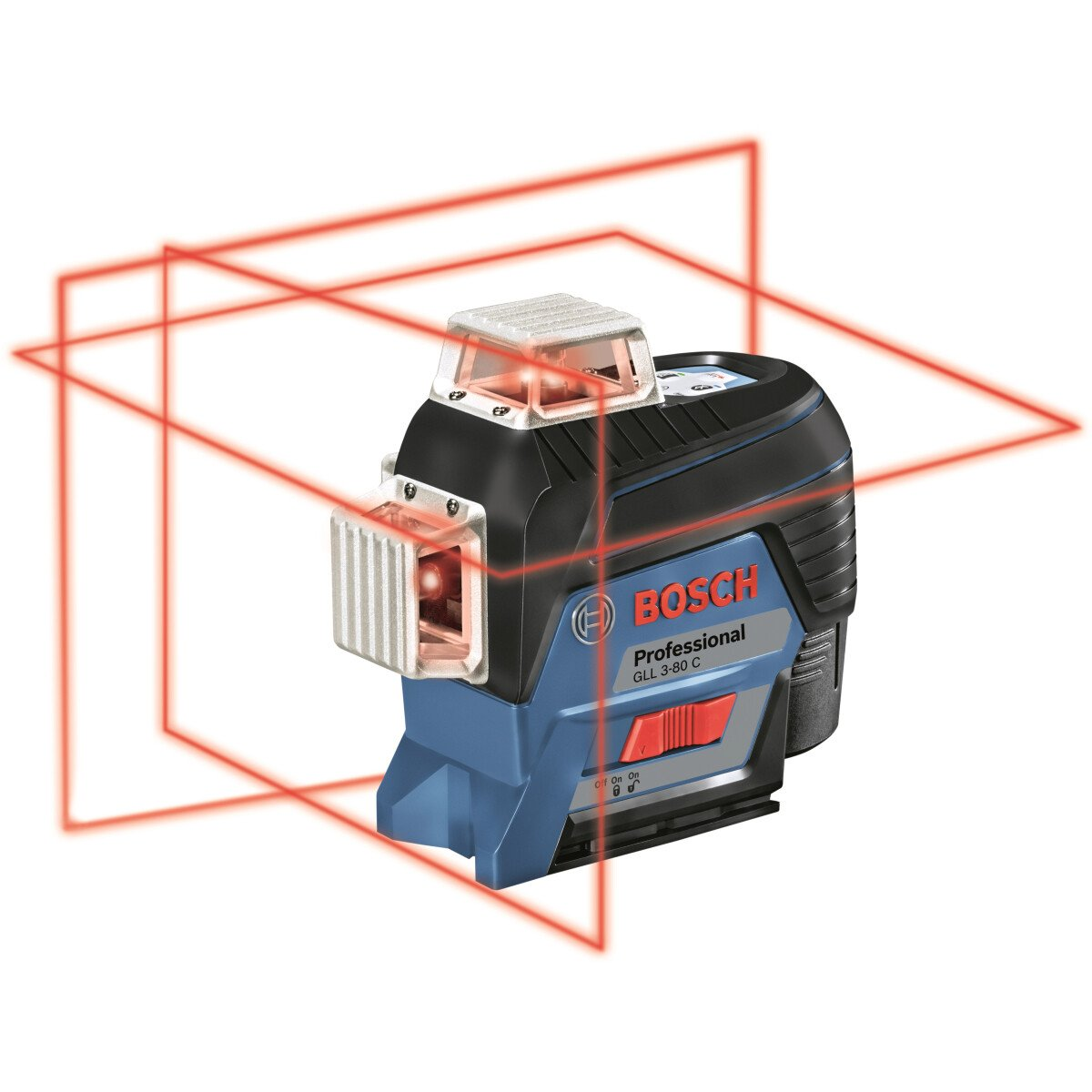 Bosch GLL 3-80 C Professional 3 Plane Connected Line Laser  in Carton