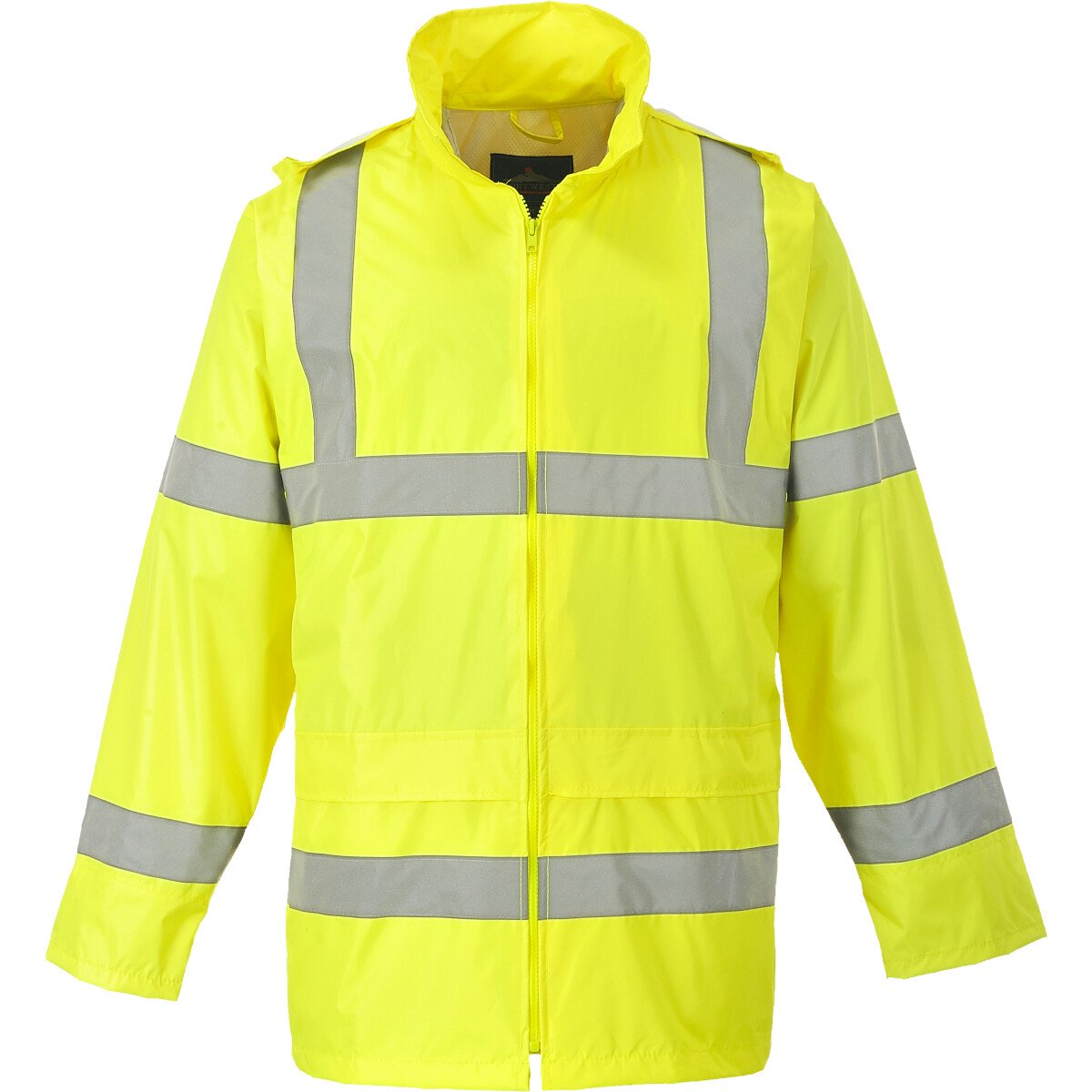 Portwest H440 Hi-Vis Rain Jacket  High Visibility Class 3 - Yellow