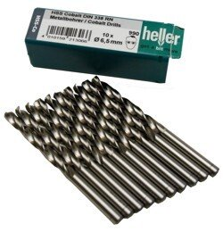 Heller 21288 5 990 5% Cobalt 4.7mm x 80mm HSS-CO Jobber Twist Drill (Packet of 10)