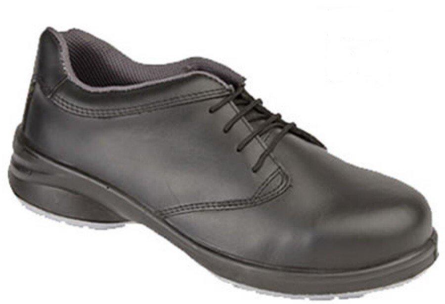 Himalayan 2214 Ladies Black Star Lace Safety Shoe S1P SRC
