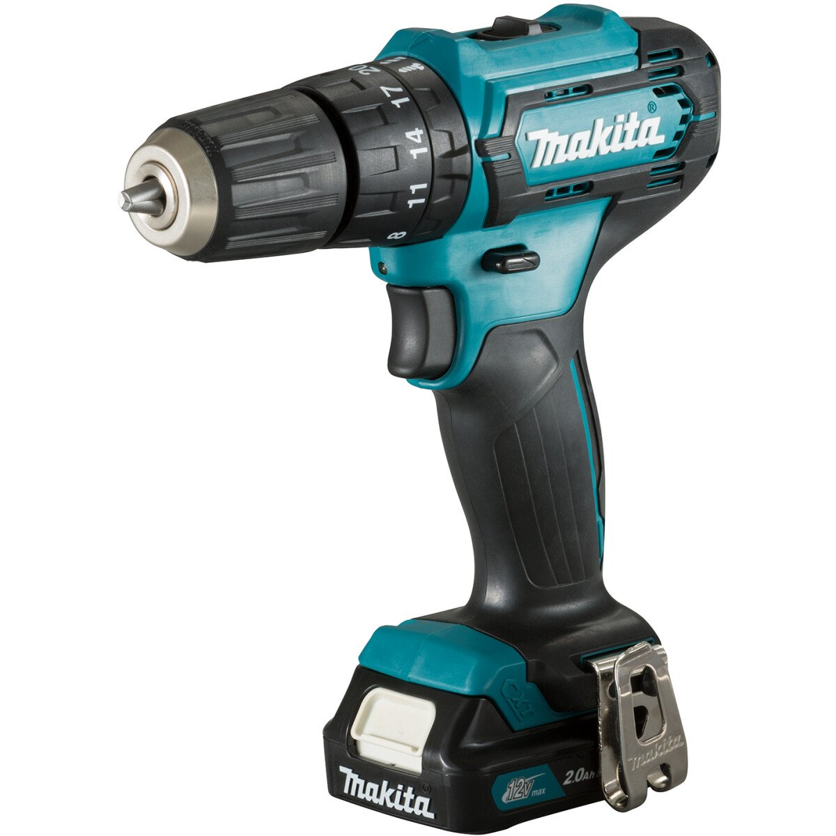 Makita HP333DWAE 12Vmax Combi Drill CXT with Battery, Charger & Carry Case (Replaces HP331DWAE)