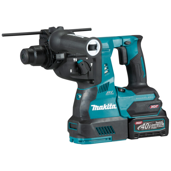 Makita HR003GD101 40v MAX XGT Brushless Rotary Hammer with 1 x 2.5Ah Battery in Case