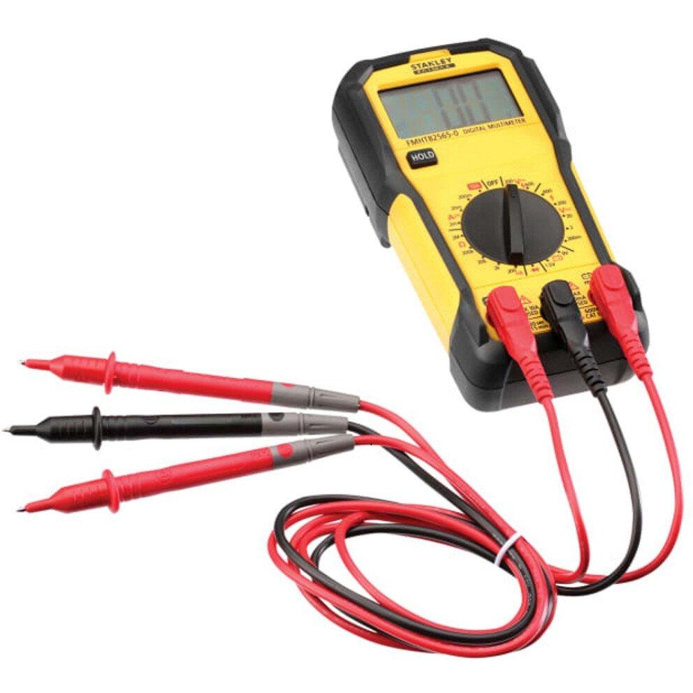 Stanley FMHT82565-0 FatMax® CAT III 600v Basic Digital Multimeter INT082565