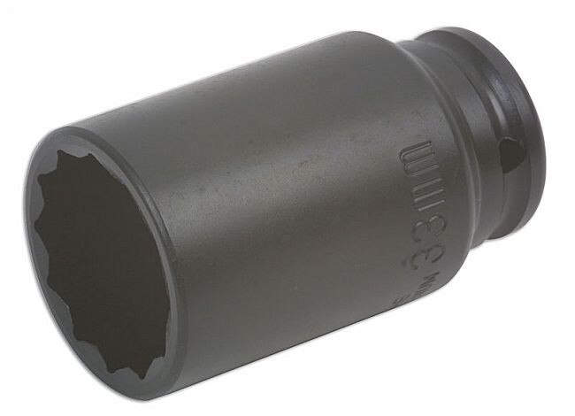 "1//2/"" Drive 18mm Deep Metric 6 Point Universal Impact Socket Tool 38mm Long"