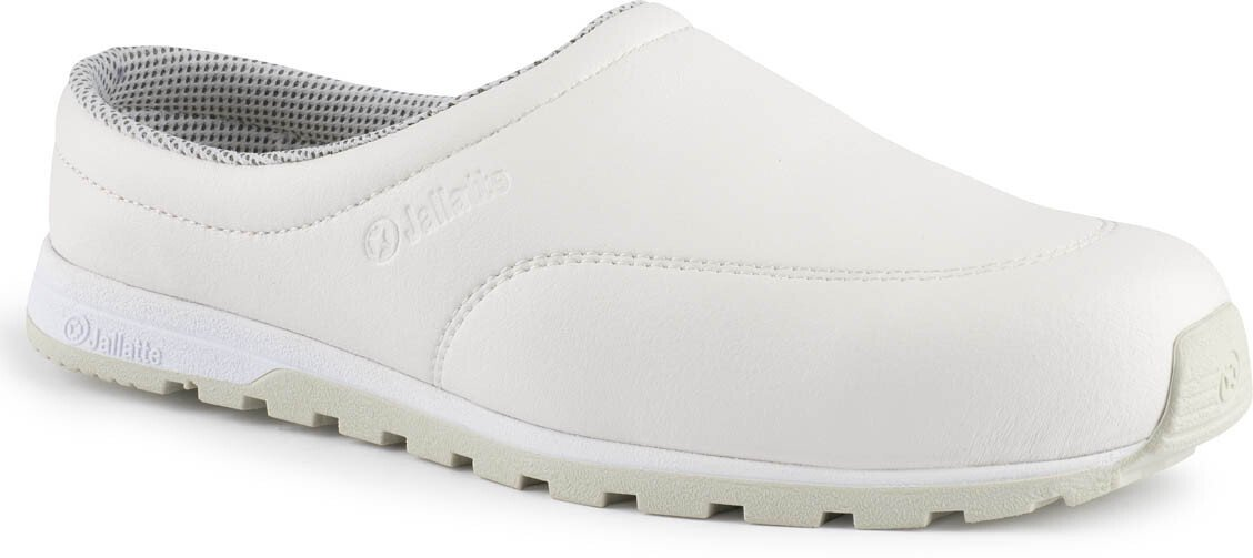"Jallatte JJD24 [CL] ""MARINA"" S1-P SRC Ladies White Trainer Safety Shoe (Size 5)"