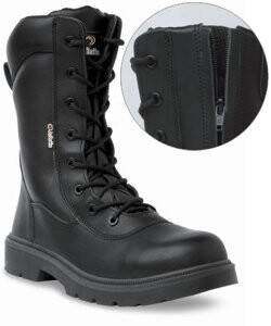 Lace High Leg Work Safety Boot UK6