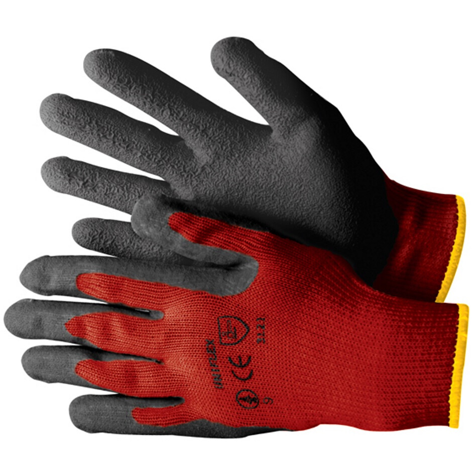 JSP ACG596-187-600 Uniflex SG Glove Red/Black Size 9