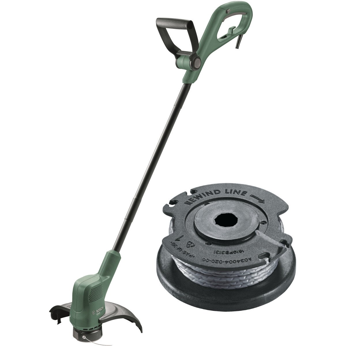 Bosch EasyGrassCut 23 with Spare Spool 23cm Grass Trimmer