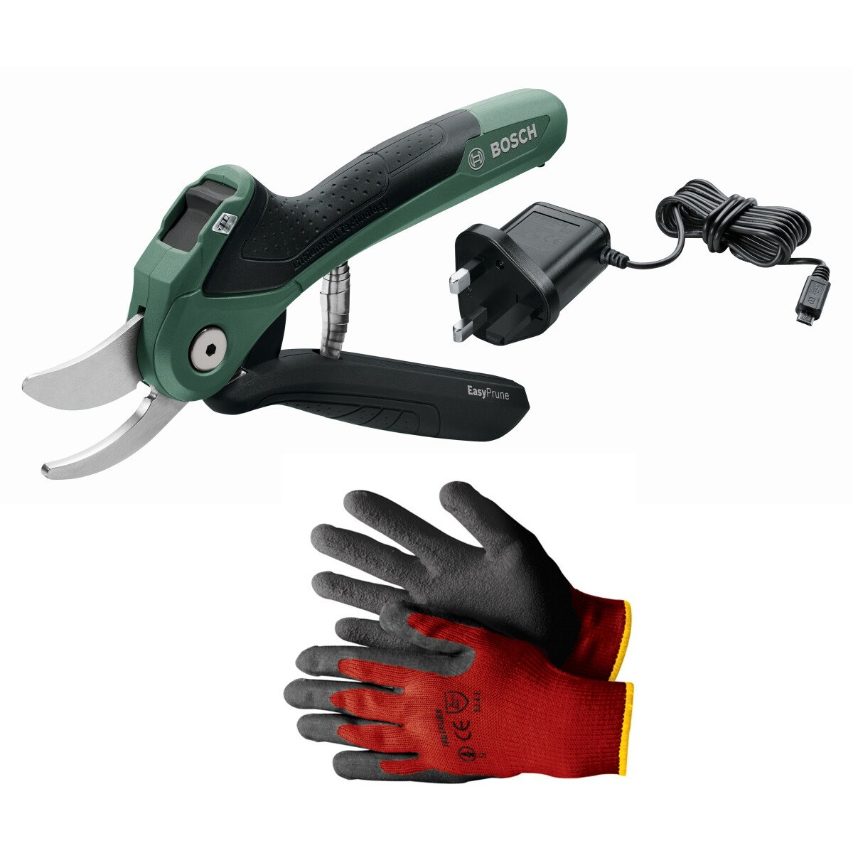 Bosch EasyPrune 3.6v Secateur with Gloves