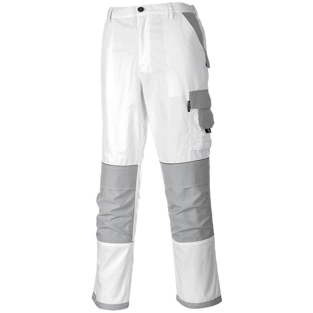 Portwest KS54 Painters Pro Trouser Workwear - White