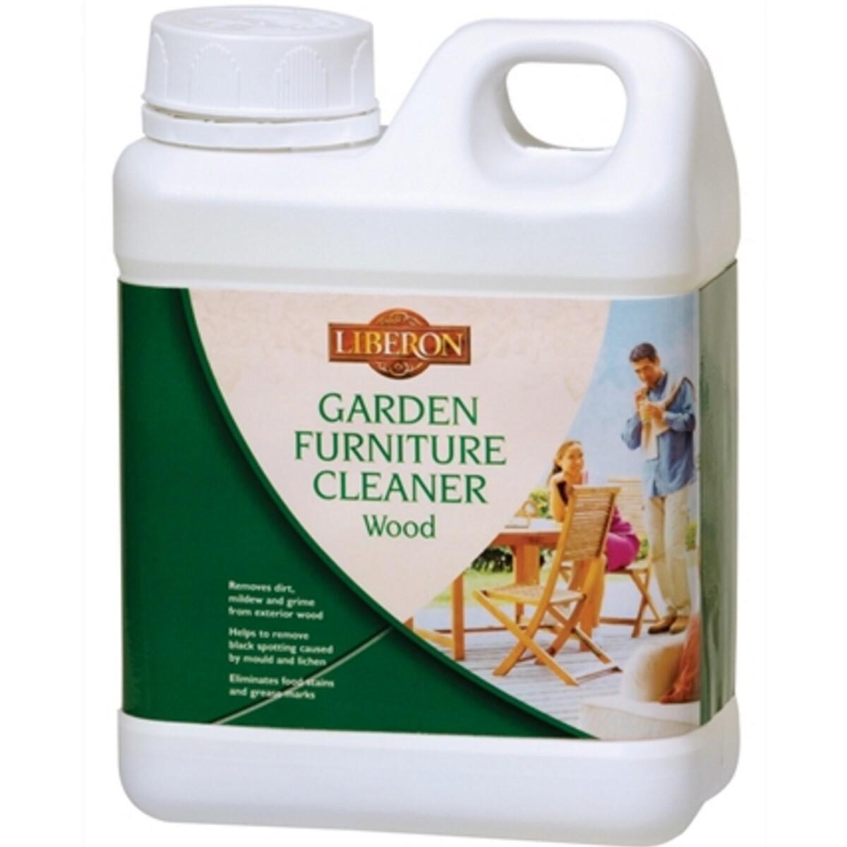 Liberon 003798 Garden Furniture Cleaner 1 Litre LIBGFC1L
