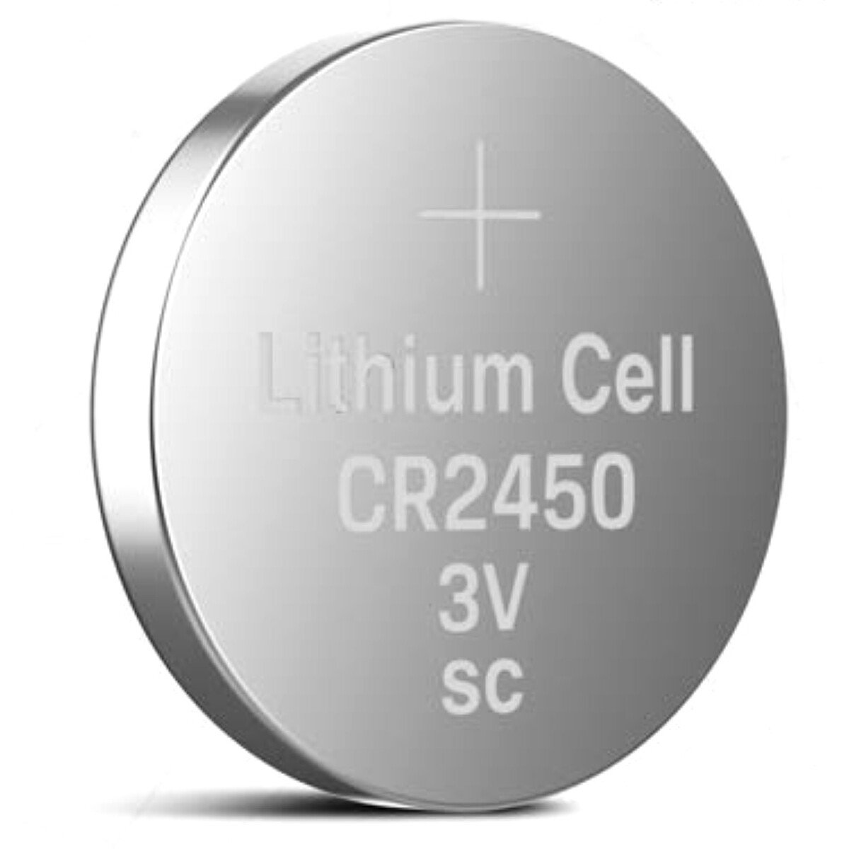 LiCB CR-2450/BS 3V Battery LI 620MAH 24.5mm CR2450 Coin Button Battery
