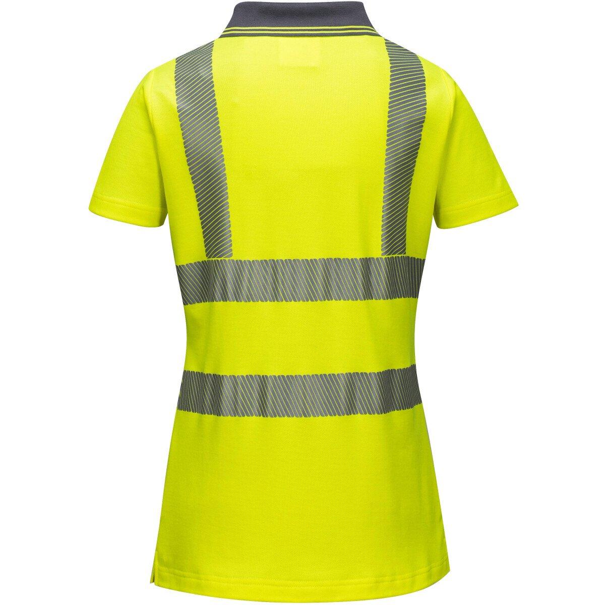 More Views. Portwest LW72 Ladies Hi-Vis Pro Polo Shirt High Visibility -  Yellow c8402e804
