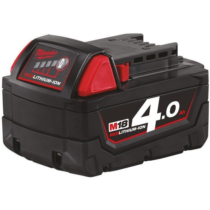 Milwaukee M18B4 18V 4.0Ah Red Lithium Ion Battery