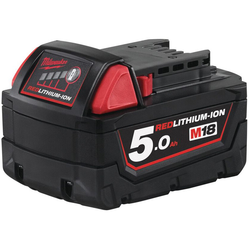 Milwaukee M18B5  5.0Ah Red Lithium-Ion Battery 18V