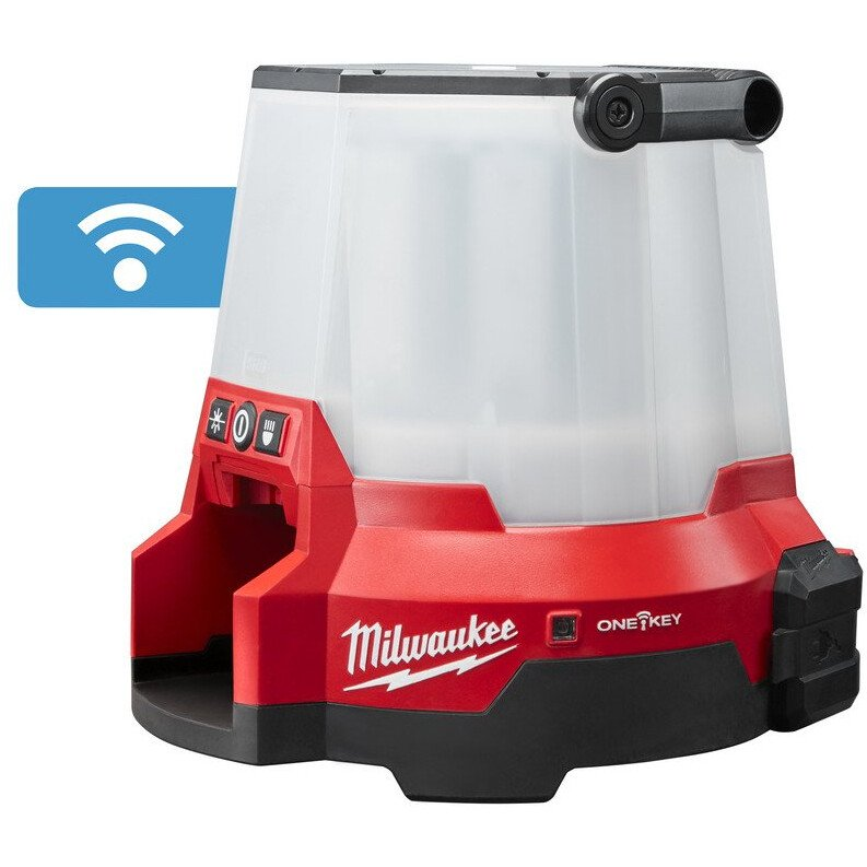 Milwaukee M18ONESLSP-0 M18 Body Only Compact Site Light Single Pack With 110v Output