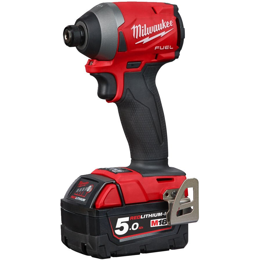 Milwaukee M18FID2-502X M18 Fuel Impact Driver with 2 x 5.0Ah Batteries, Charger and Case