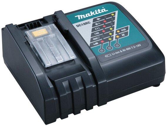 Makita DC18RC Makstar Compact 7.2v-18v Li-ion Charger Musical Indicator