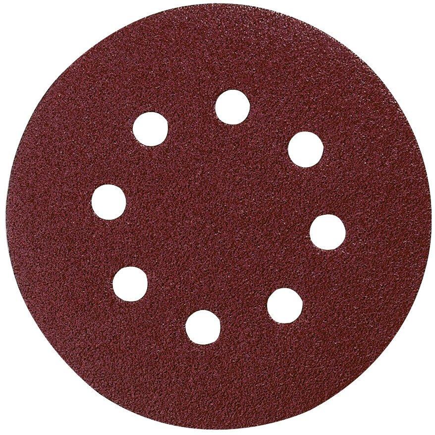 Makita P-43577 Velcro Backed 125mm Abrasive Disc 120 Grit (Pack of 10)