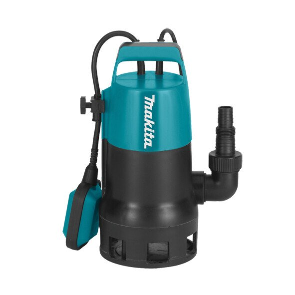 Makita PF0410/2 400w Dirty Water Submersible Pump 140L/min 240v