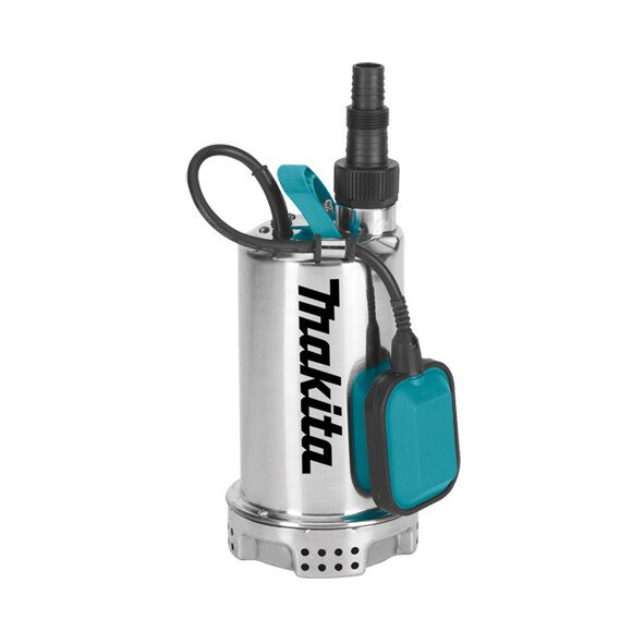 Makita PF1100 1100w Clean Water Submersible Pump Stainless Steel 250L/min 240v