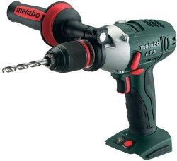 Metabo SB18LTX  Body Only 18V Cordless Impuls Lithium Ion Combi Drill (Body Only) With Metaloc Carry Case