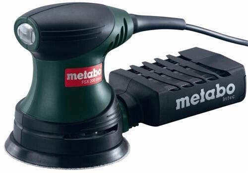 Metabo FSX200INTEC Random Orbit Sander 125mm 240w 240v Palm Grip