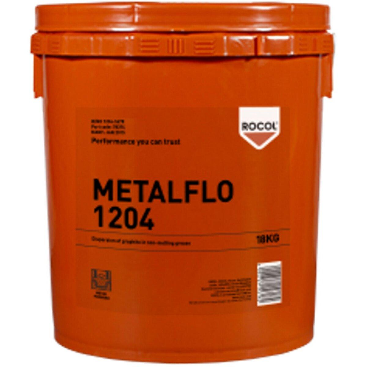 Rocol 78374 Metalflo 1204 - Dispersion of Graphite in Non Melting Grease 18kg