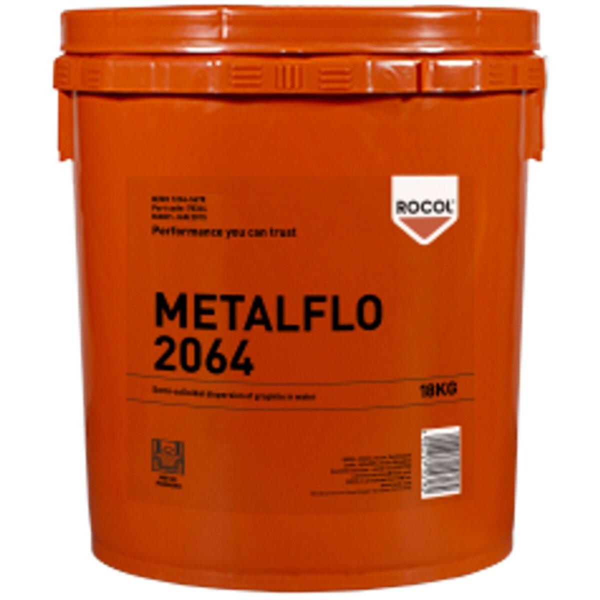 Rocol 78344 Metalflo 2064 Semi-Colloidal Dispersion of Graphite in Water 18kg