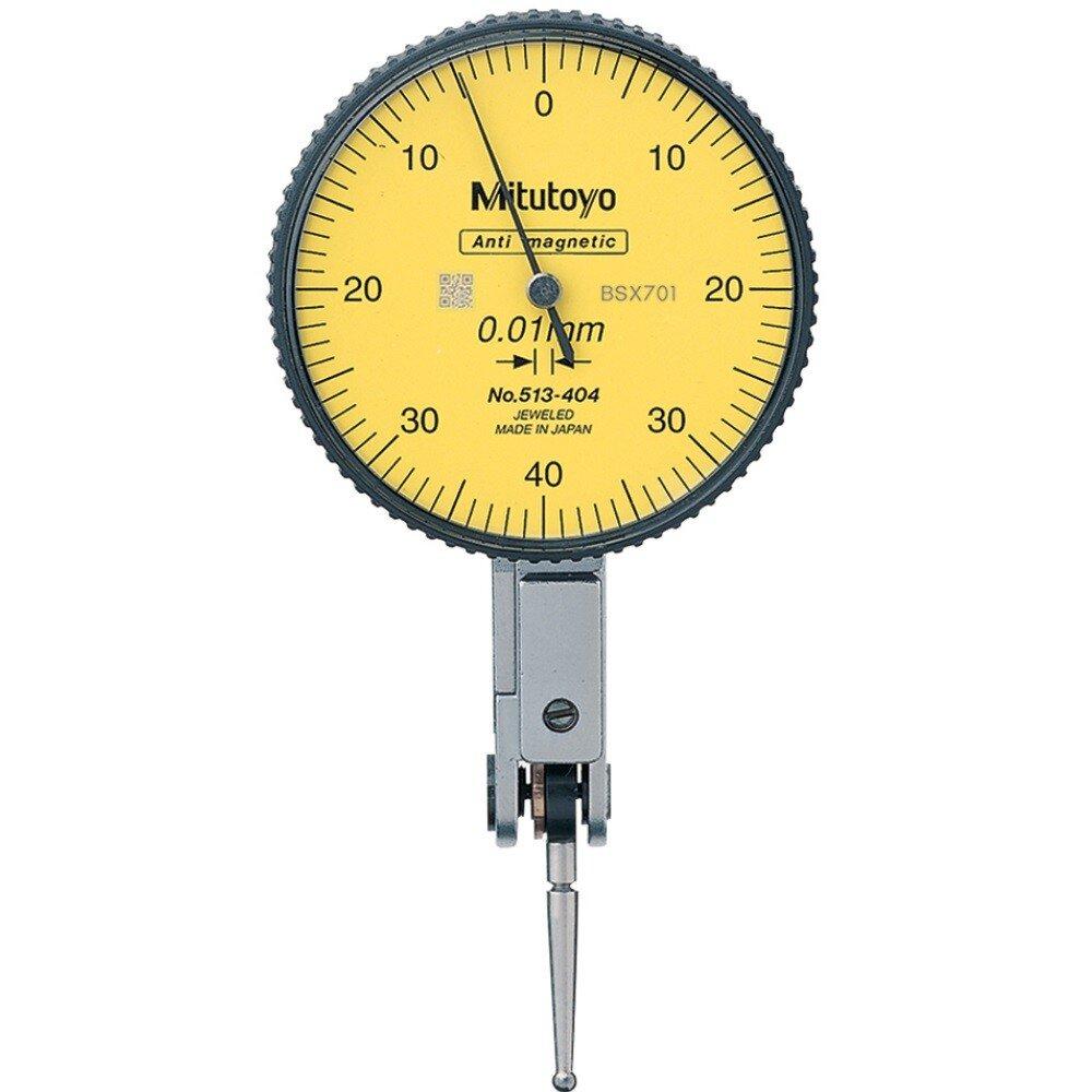 Mitutoyo 513-404E Metric Dial Test Indicator 513404E