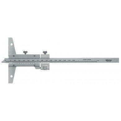 Mitutoyo 527-101 Metric Vernier Depth Gauge 0-150mm