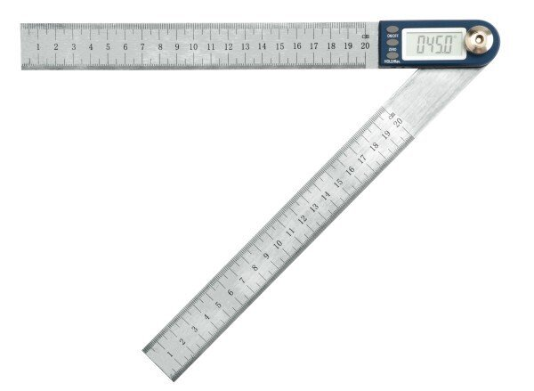 """Moore and Wright MW506-01 Digitronic Angle Rule 200mm / 8"""""""