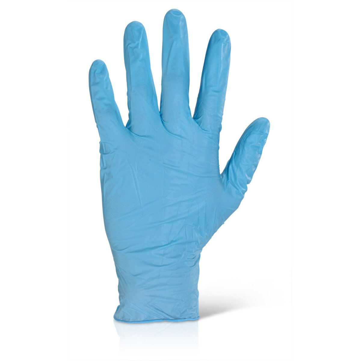 Click NDGPFBEB Blue Powder Free Disposable Nitrile Glove (Pack of 100 Gloves) XL / 10