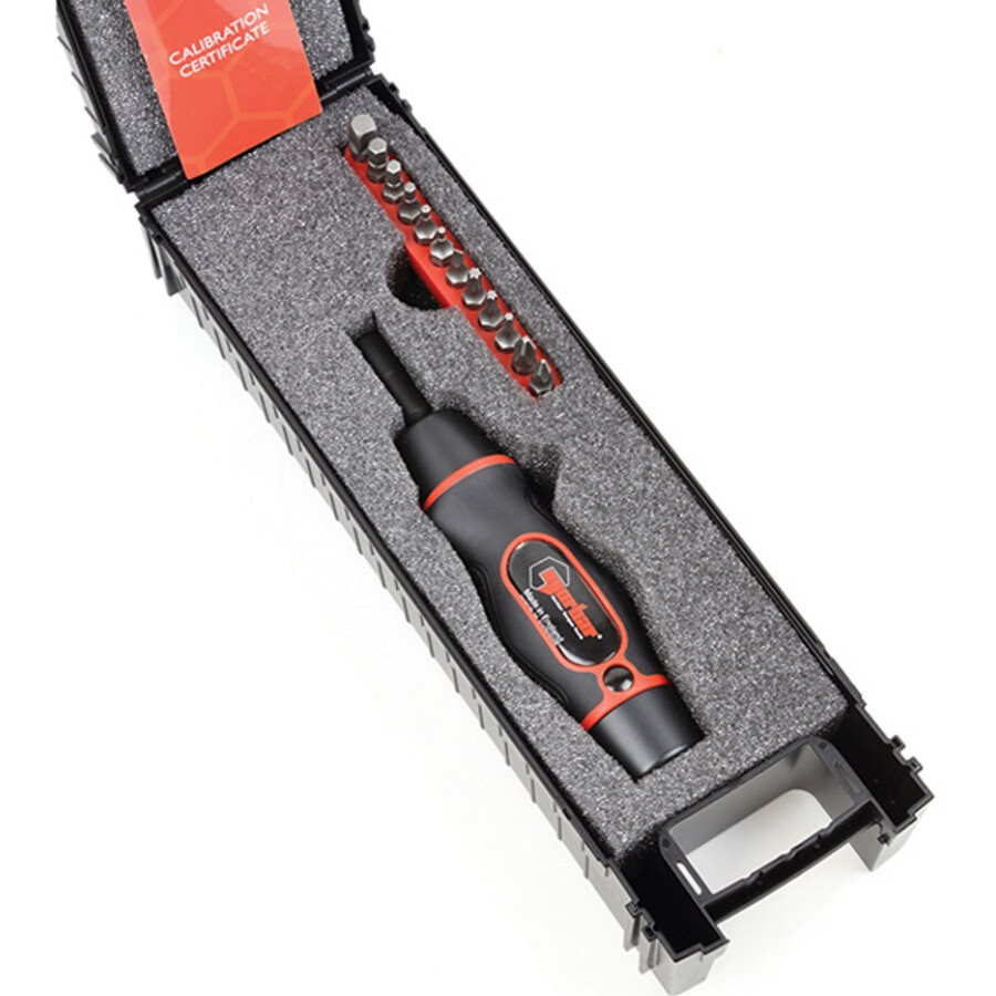 Norbar 13702 Torque Screwdriver Kit 1.2-6.0Nm 1/4in Hex T-NOR13702