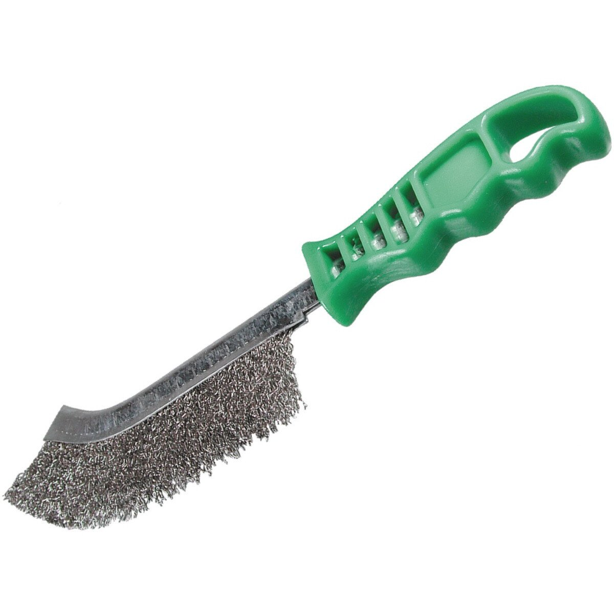 Osborn 0008-462-391 Wire Brush (Stainless Steel) Green Handled