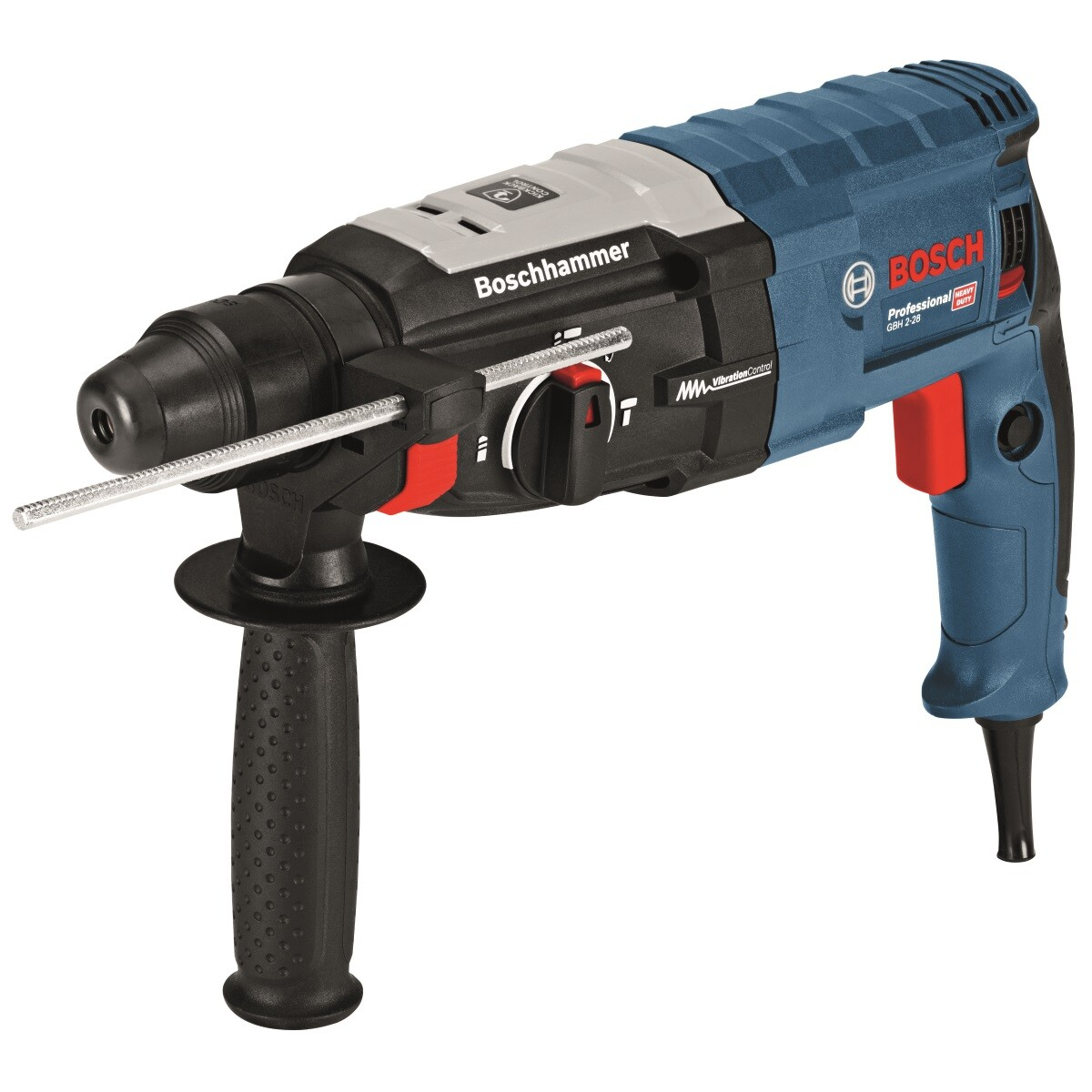 Bosch GBH 2-28 2 kg 3 Function SDS-plus Rotary Hammer with Vibration Control in L-BOXX