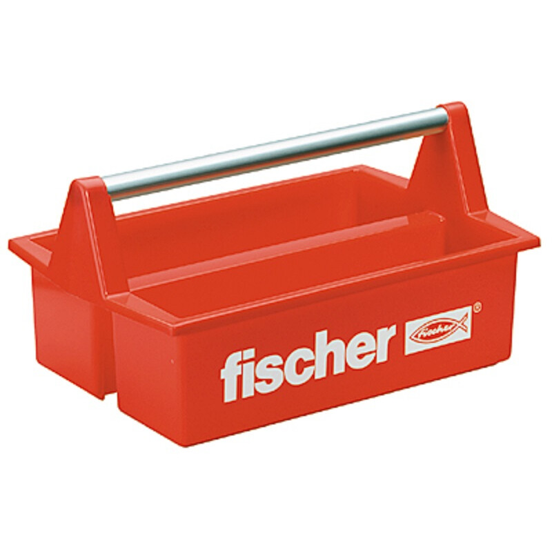 Fischer 60524 Toolboxx With Two Large Storage Containers and Aluminium Handle